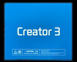 Flashforge Creator3 Build Surface Sheet