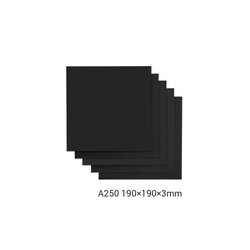 Frosted Acrylic Sheet for Snapmaker 2-0 - 190 - 190 - 3mm - 5-Pack