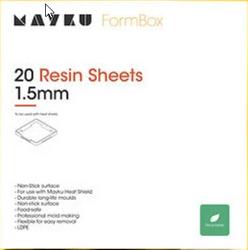 Mayku Resin Sheets (LDPE Sheets) 20 pack of 1-5mm