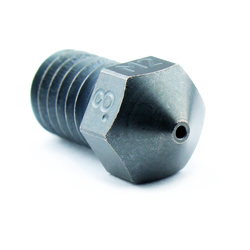 Micro Swiss M2 Hardened High Speed Steel Nozzle RepRap - M6 Thread 1-75mm Filament - 0-80mm