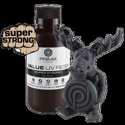 PrimaCreator Super Strong UV Resin - 500 ml - Schwarz