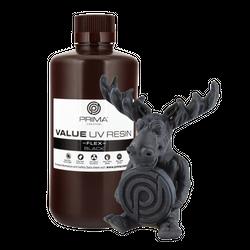 PrimaCreator Value Flex UV Resin - 1000 ml - Black