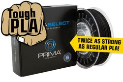PrimaSelect PLA Tough - 1-75mm - 750 g - Schwarz