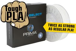 PrimaSelect PLA Tough - 1-75mm - 750 g - weiss
