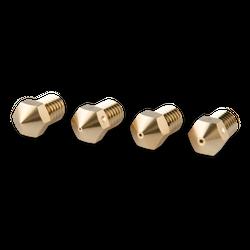RepRap M6 Messing Nozzle 3 mm - 0-4 mm - 4 Stk