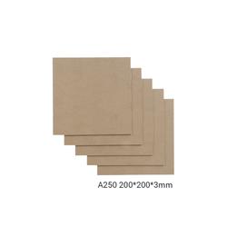 Snapmaker Basswood Sheet-A250 - 200x200x1-5mm - 5-pack