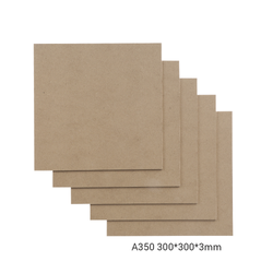 Snapmaker MDF Wood Sheet-A350 - 300x300x3mm - 5-pack